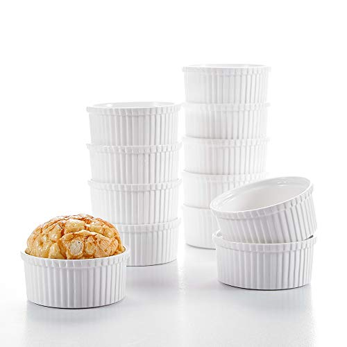White Porcelain Rice Bowls - Malacasa, Series Regular, Ivory White Porcelain 6