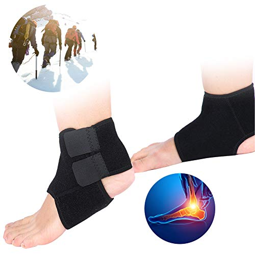 Ankle Brace, Adjustable Knee Foot and Ankle Joint Support for Ankle Sprains, Sprained Ankles Swelling and Minor Sprains, Perfect Ankle Wrap Breathable Sports