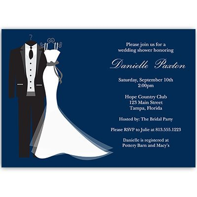 wedding shower invitations couples shower bridal shower invites navy navy blue