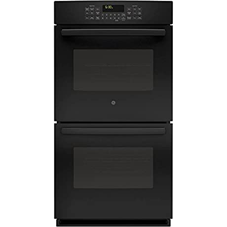 GE PK7500DFBB Profile 27 Black Electric Double Wall Oven Convection