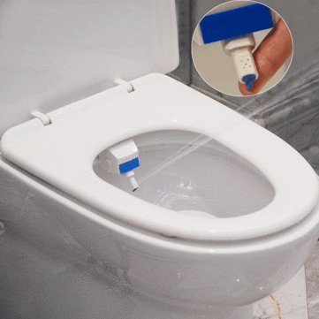 HESHE Bathroom Smart Toilet Seat Bidet Intelligent Toilet Flushing Sanitary  Device : Amazon.in