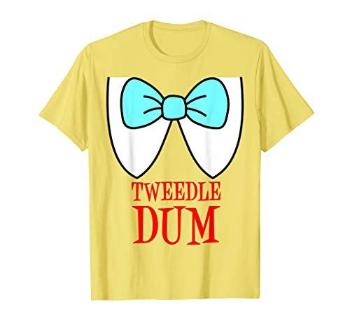 Tweedle Dum And Dee Costumes (Tweedle Dum Costume T-Shirt)