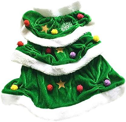 Balacoo - Disfraz de árbol de Navidad para Mascotas, para Perro ...