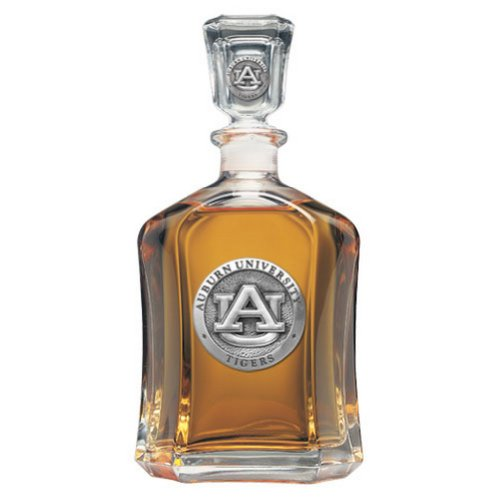 Auburn Tigers Glass Capitol Decanter (Spirit Holder) 24 oz - NCAA College Athletics