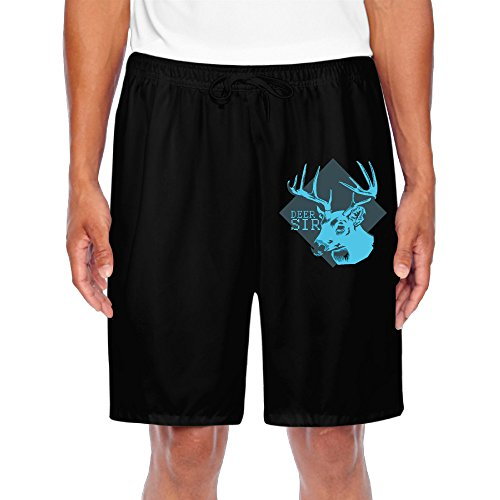 quotes-adult-shorts-roe-deer-for-relax-fitness