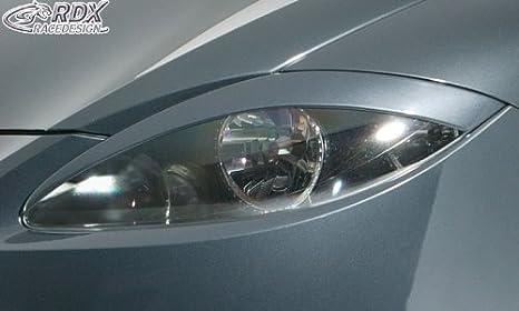 RDX Copertura per fanali anteriori per SEAT Leon 1P