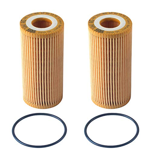 (Podoy HU6002z Oil Filter 06L-115-562 Compatible for VW Passat Cabriolet Golf R Beetle 1.8T VW Golf 1.8 TSI 2016 VW GTI 2014 1.8T TSI Jetta Audi A3 06K 115 562 Engine Oil Filter)