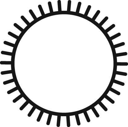 Grobet Swiss Pattern File Escapement 5-1//2 Round Cut 0