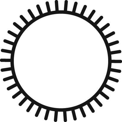 Grobet Swiss Pattern File Round 8 Inch Cut 1