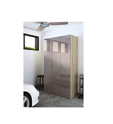 D-Scan Jumbo Mocha High Gloss Paint Storage Cabinet
