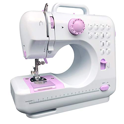 KPCB 505 Sewing Machine with 12 Stitches Mini Size with Backstitch Buttonholing