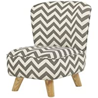 Babyletto Pop Mini Chevron Chair, Grey