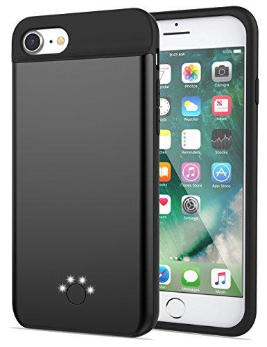 2800mah External Battery Case iPhone 7 (Black) - 9