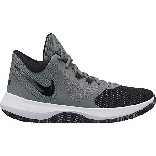 Nike Air Precision II Basketball Shoes (M11.5/W13, Grey/Black/White)
