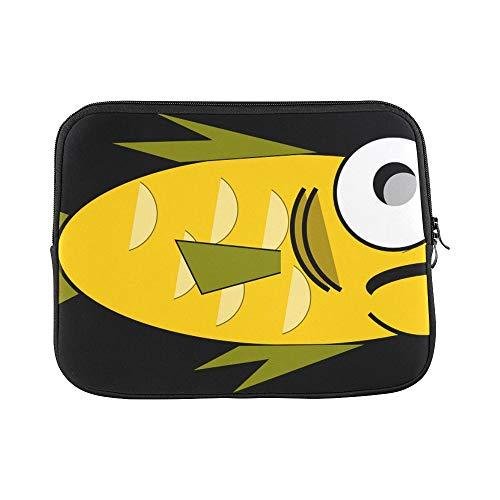 Design Custom Goldfish Fish Aquarium Sea Life Water Creature Sleeve Soft Laptop Case Bag Pouch Skin for MacBook Air 11