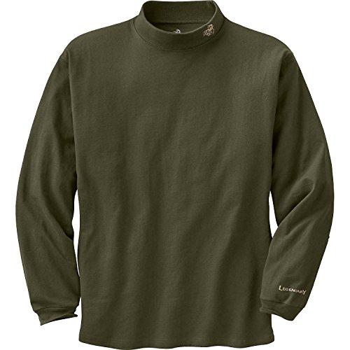 Legendary Whitetails Men's Legendary Mock Tee Pullover Olive