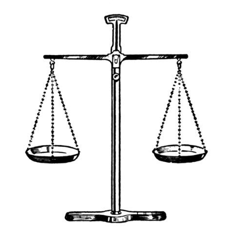 14 X 10 Cm Di Auguri Linea Disegno Giustizia Bilancia Amazonit