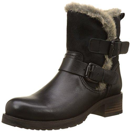Buffalo Damen Es 30963 Sauvage Nevada Biker Boots Schwarz (preto 01)