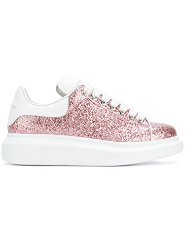 Alexander McQueen Women's 462215W4hl15562 Pink Leather Sneakers