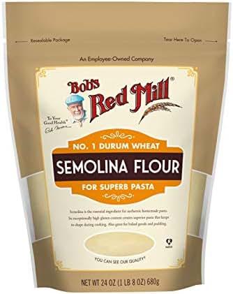 Flours & Meals: Bob's Red Mill Semolina Flour