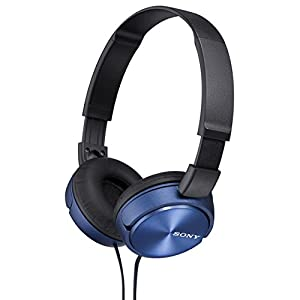 Sony Dynamic closed-type headphones MDR-ZX310-L Blue