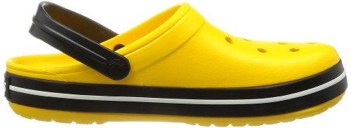Jaune Clog Crocs Band black Yellow Mixte Sabots Adulte fFWp6awq
