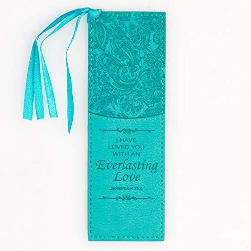 Everlasting Love - Jeremiah 31:3 Bookmark, Turquoise (Staff Bookmark)