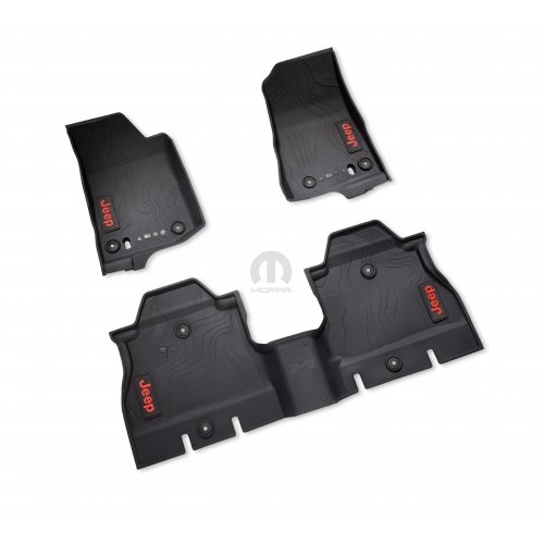 2018 New Jeep Wrangler JL 4-Door All Weather Floor Mats