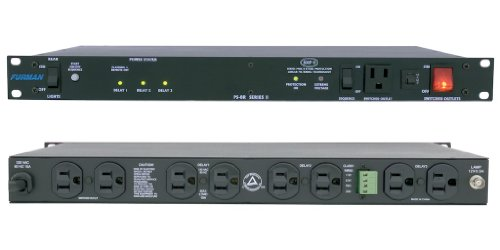 Smps Power Switch (Furman PS-8R II  15 Amp Power Sequencer, Advanced Level Power Conditioning, SMP, EVS, LiFT,Sequence On and Off from Front Panel or Remote)