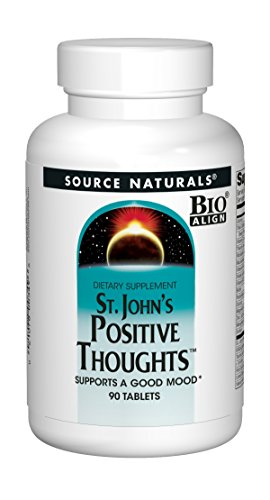 Source Naturals St. John's Positive Thoughts Herbal Supplement – 90 Tablets For Sale