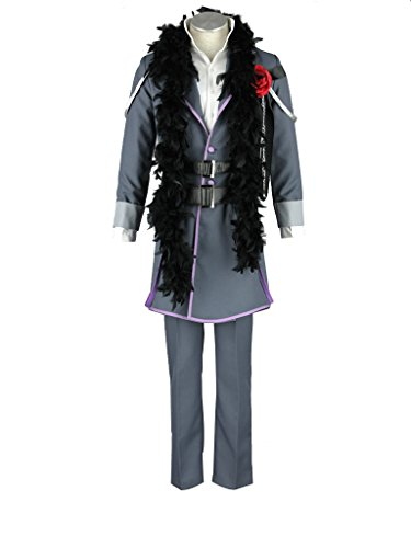 Mtxc Men's Vocaloid Cosplay Costume The Secret Dark Vow Kamui Gakupo Size XX-Large (Gakupo Kamui Cosplay Costume)