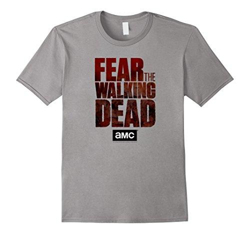 Classic Walking T-shirt (Mens Fear The Walking Dead T-Shirt 3XL Slate)