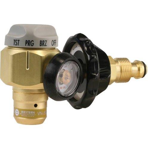 Western Enterprises VN-250 Flowmeter Nitrogen Purging Regulator w/250 PSI Test Pressure by Western Enterprises