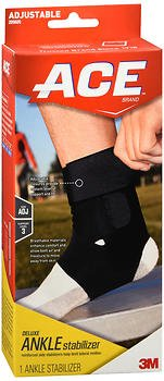ACE Deluxe Ankle Stabilizer #209605 - 1 ea., Pack of 6 by ACE
