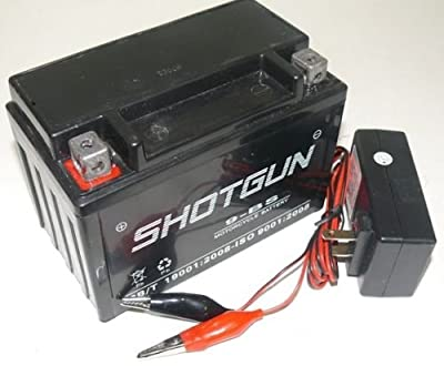 YTX9-BS ATV Battery/Charger 12V for Honda TRX400EX FourTrax Sportrax 1999-2009