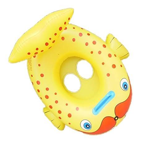 Sea Lion Tiburón Ballena Natación del flotador del asiento niños Barco de bebé: Amazon.es: Hogar