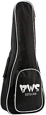 QLJ08 Bolsa de ukelele de 23 pulgadas Funda de esponja acolchada de 5 mm Estuches de marca portátil Estuche de bolsa portátil Ukelele soprano Bolsas Cubiertas de caja: Amazon.es: Instrumentos musicales