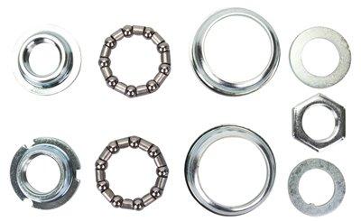 Sunlite Bottom Bracket Set, 24 TPI / 68mm, Silver ()