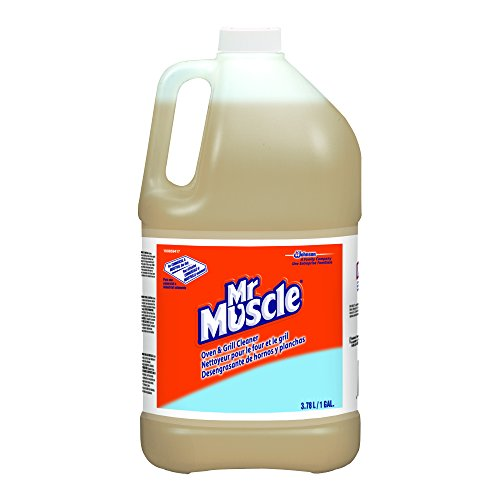 Diversey 100859417 Mr. Muscle Oven and Grill Cleaner, 1 gal (Pack of 4) ()