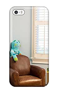 Iphone 5/5s Case Cover Blue Boys Room With Leather Chair 038 Stuffed Animal Case - Eco-friendly Packaging