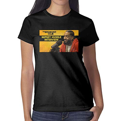 Short Sleeve Pretty Women Nipsey-Hussle-Talks-New-Album- top Loose Tshirts