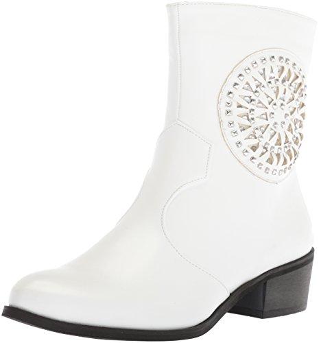 2 Lepper For Kvinners Altfor Kam Mote Boot Hvit