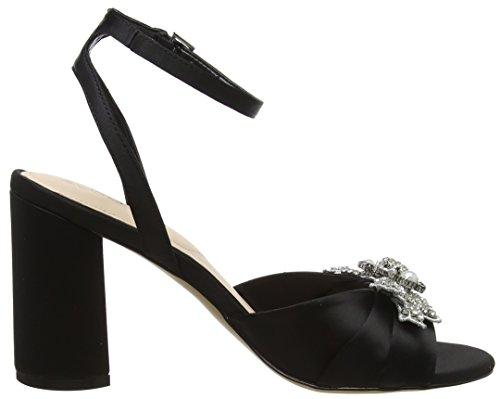 jet Femme Aldo Black Noir Sandales Cheville Sansperate Bride Aw1nIq1Y