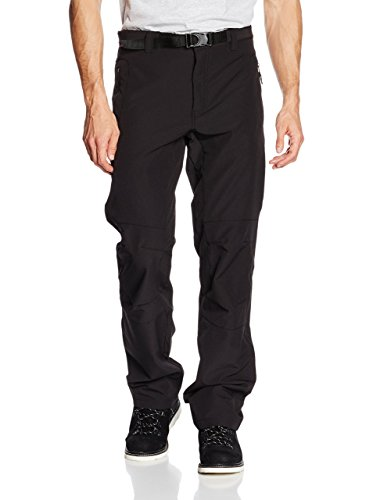 Alpine Pro Pantalone Softshell Carb Nero IT 48