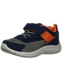 Carter's Neo Athletic Heather Mesh Sneaker con Correa Ajustable para niño