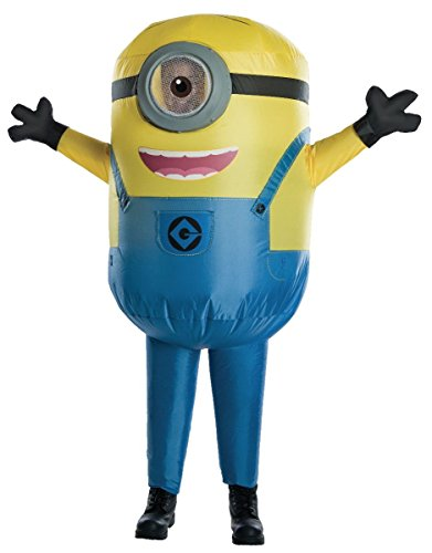 (Child Minion Stuart Inflatable Costume - Despicable Me - Large 12-14 Ages)