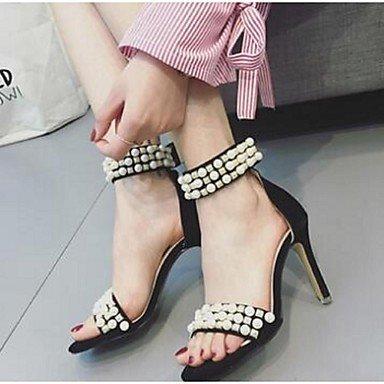Comfort UK3 EU35 Heel Women'S Suede US5 Casual RTRY Sandals Stiletto CN34 zEq8SpY