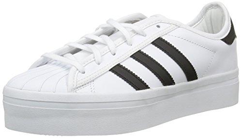 adidas Damen Superstar Rize Sneaker Weiß - Blanc (Ftwr White/Core Black/Ftwr White)