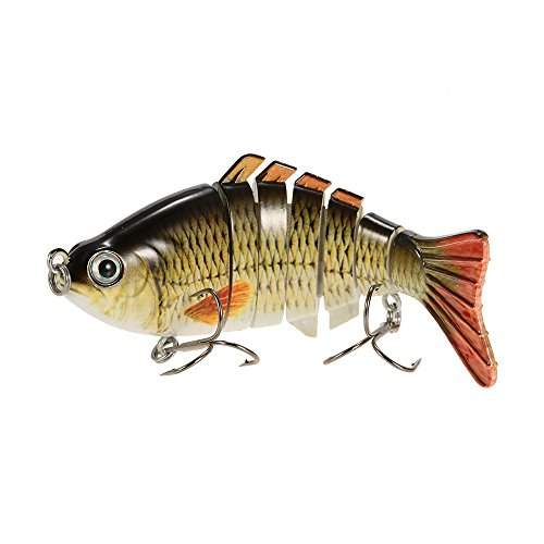 Freshwater lifelike fishing lures for Amazon fishing lures