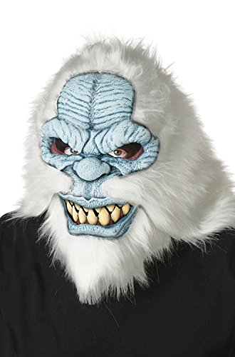 California Costumes Men's ANI-Motion MASK, YETI, One Size ()